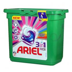 Ariel 3in1 Capsule Colour 27pcs