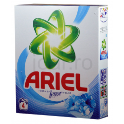 Ariel Touch Of Lenor Fresh Mosópor 400 g