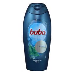 Baba Tusfürdő Férfiaknak Menta Kivonattal 400 ml
