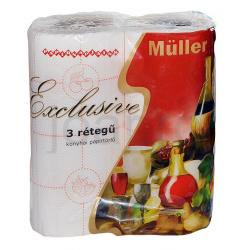 Muller Exclusive Natural 2 tekercses papírtörlő