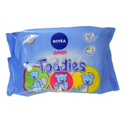Nivea Baby Toddies nedves törlőkendők, 60 darab