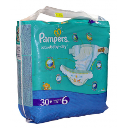 Pampers New Baby-Dry tépőzáras pelenka 2-es méret (Mini), 15 kg, 30 db