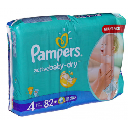 Pampers Active Baby 4 Maxi (7-18kg) 76db