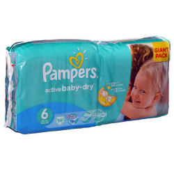 Pampers Active Baby 4 Maxi 15+ kg 56db
